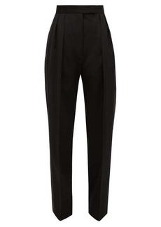 Jil Sander P.M. pleated straight-leg wool trousers