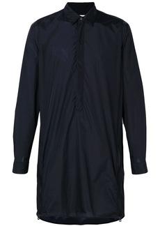 Jil Sander pull-over tunic shirt - Blue