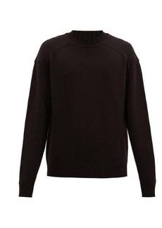 Jil Sander Rib-knitted wool sweater