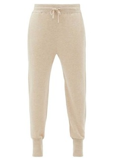 Jil Sander Ribbed-cuff cashmere-blend track pants