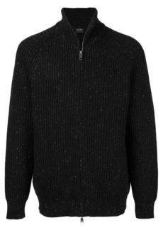 Jil Sander ribbed knitted sweater - Black