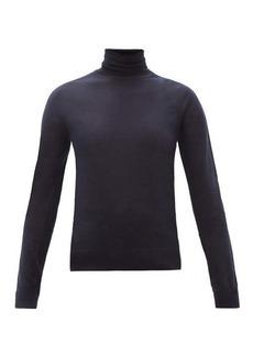 Jil Sander Roll-neck cashmere-blend sweater