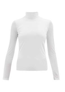 Jil Sander Roll-neck stretch-jersey top