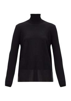 Jil Sander Roll-neck wool-blend sweater