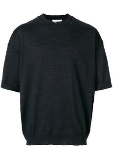 Jil Sander short sleeve jumper - Blue