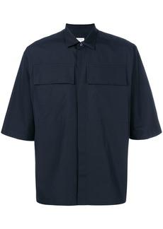 Jil Sander shortsleeved shirt - Blue