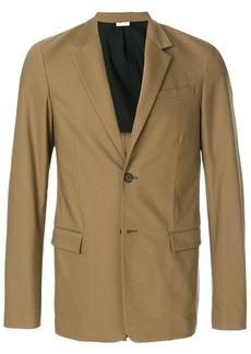 Jil Sander single breasted blazer - Green