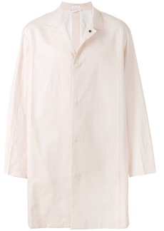 Jil Sander single breasted coat - Pink & Purple