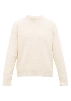 Jil Sander Slubbed cotton-blend sweater