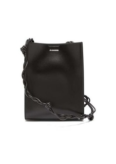 Jil Sander Tangle small knotted-strap leather cross-body bag