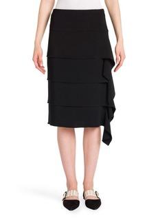 Jil Sander Solid Tiered Skirt