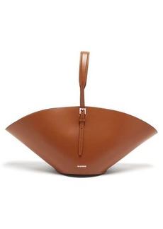 Jil Sander Tangle braided-strap leather shoulder bag