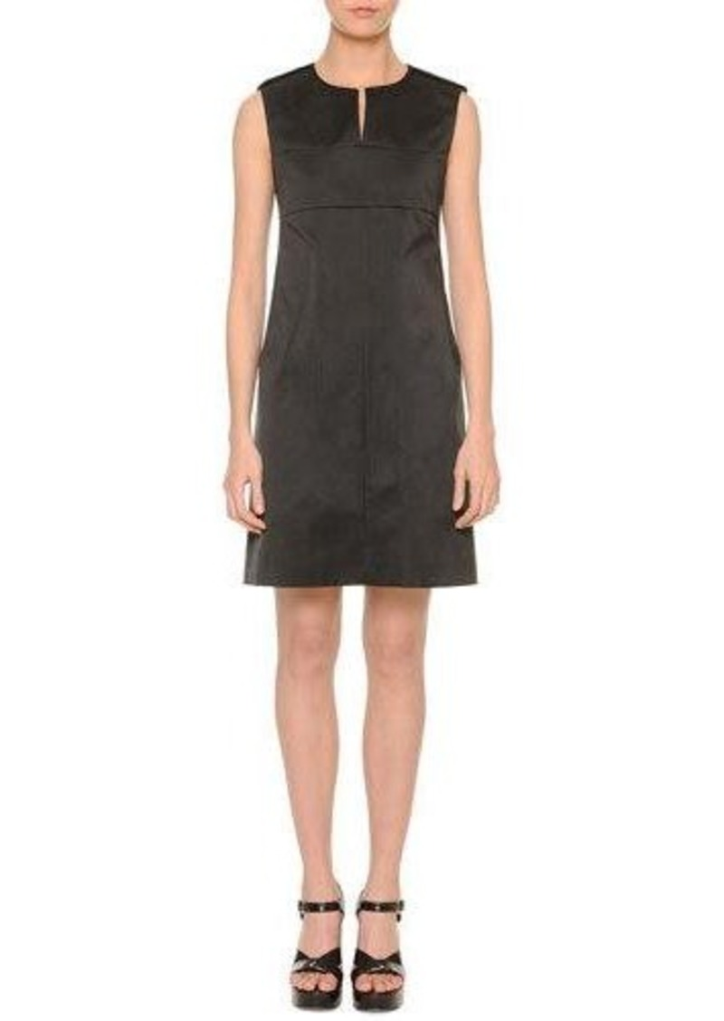 Jil Sander Split-Neck Skimmer Dress
