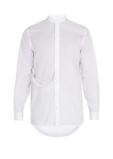 Jil Sander Stand-collar cotton shirt