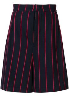 Jil Sander striped shorts - Blue