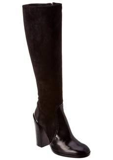 Jil Sander Suede & Leather Boot