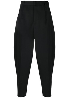 Jil Sander tailored fitted trousers - Black