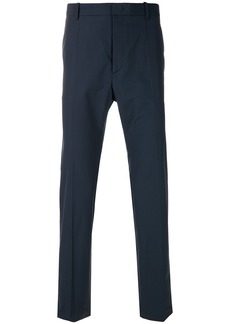 Jil Sander tailored fitted trousers - Blue