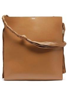 Jil Sander Tangle large leather shoulder bag