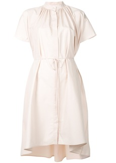 Jil Sander tie-waist shirt dress - Nude & Neutrals