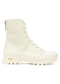 Jil Sander Trek-sole leather hiking boots