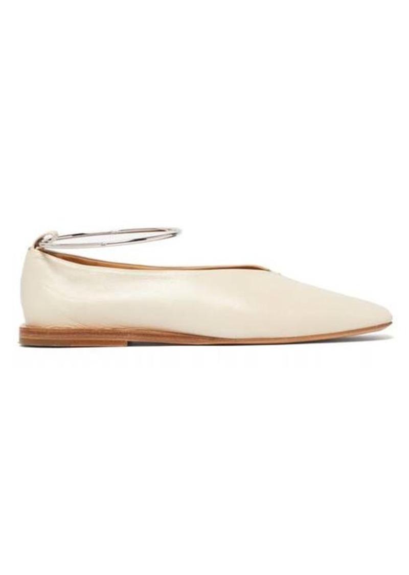 Jil Sander Two-tone leather ballet flats