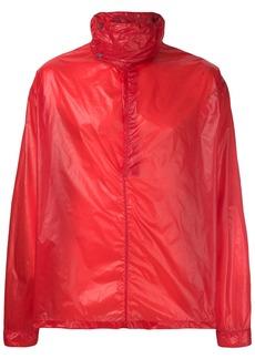 Jil Sander waterproof pullover jacket - Red