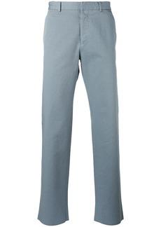 Jil Sander wide leg chinos - Blue