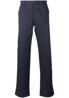 Jil Sander wide leg chinos - Grey
