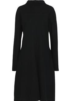 Jil Sander Woman Brushed-wool Dress Black