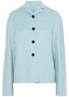 Jil Sander Woman Cashmere Coat Sky Blue