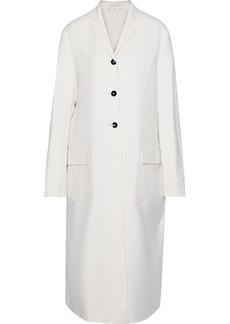 Jil Sander Woman Cashmere-felt Coat Ecru
