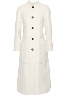 Jil Sander Woman Cashmere-felt Coat Off-white