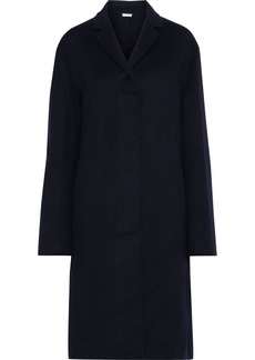 Jil Sander Woman Cashmere-felt Coat Midnight Blue