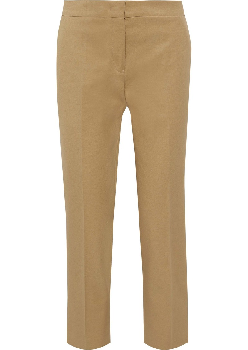 Jil Sander Woman Cotton Straight-leg Pants Camel