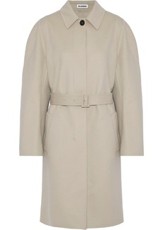 Jil Sander Woman Davenport Wool And Cashmere-blend Trench Coat Neutral