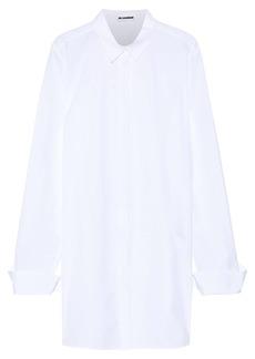 Jil Sander Woman Oversized Cotton-poplin Shirt White