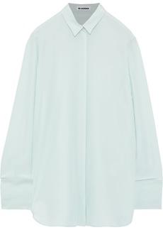 Jil Sander Woman Silk Shirt Mint