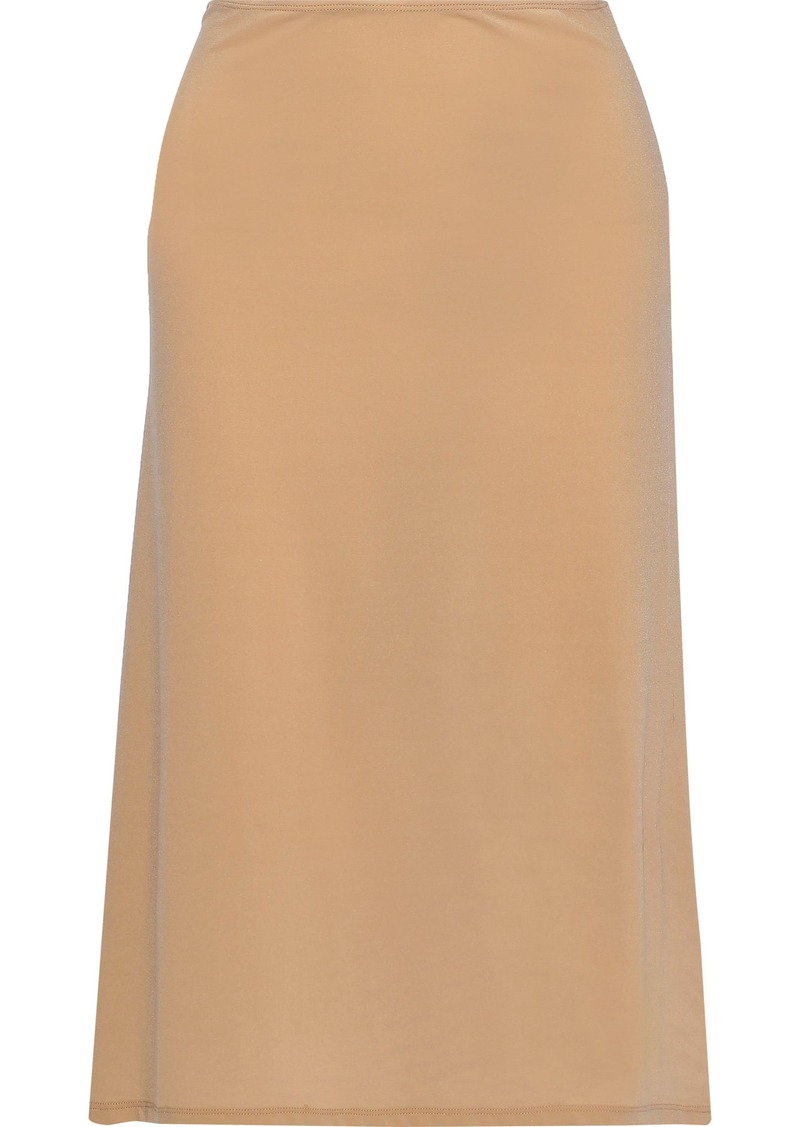 Jil Sander Woman Stretch-jersey Slip Skirt Sand