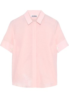 Jil Sander Woman Voile Shirt Blush