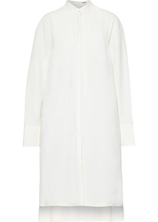 Jil Sander Woman Woven Shirt Dress White