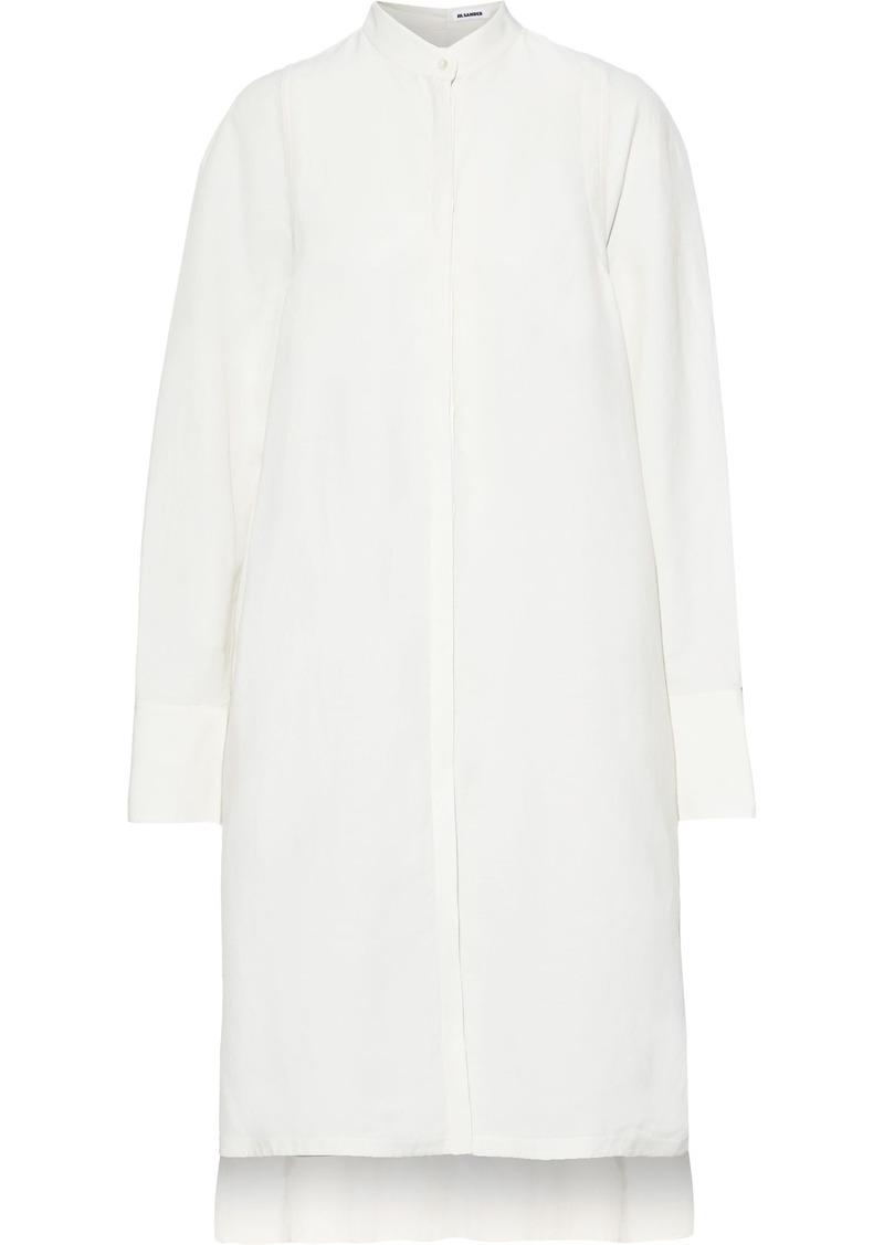 Jil Sander Woman Woven Shirt Dress White