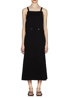 Jil Sander Women's Double-Breasted Sleeveless Dress