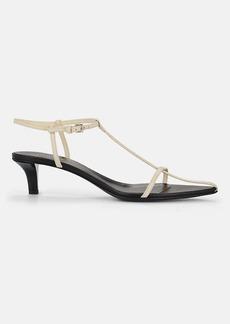Jil Sander Women's Leather T-Strap Sandals