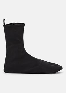 Jil Sander Women's Stretch Leather Sock Ankle Boot