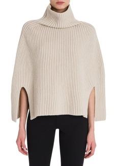 Jil Sander Wool & Cashmere Cape Sweater