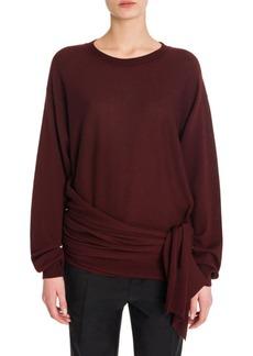 Jil Sander Wool Side Knot Sweater