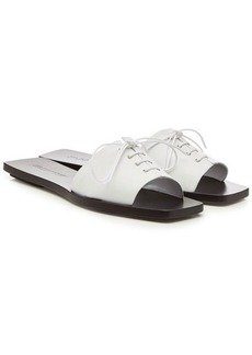 Jil Sander Junior Leather Sandals