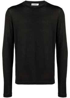 Jil Sander knitted sweatshirt