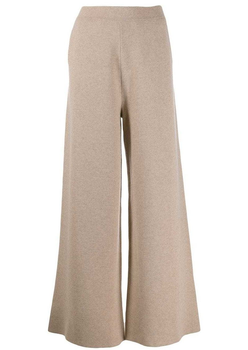Jil Sander knitted wide-leg trousers